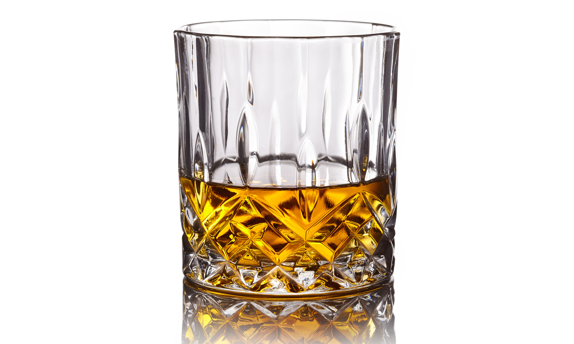 Crystal Clear Whiskey Glass